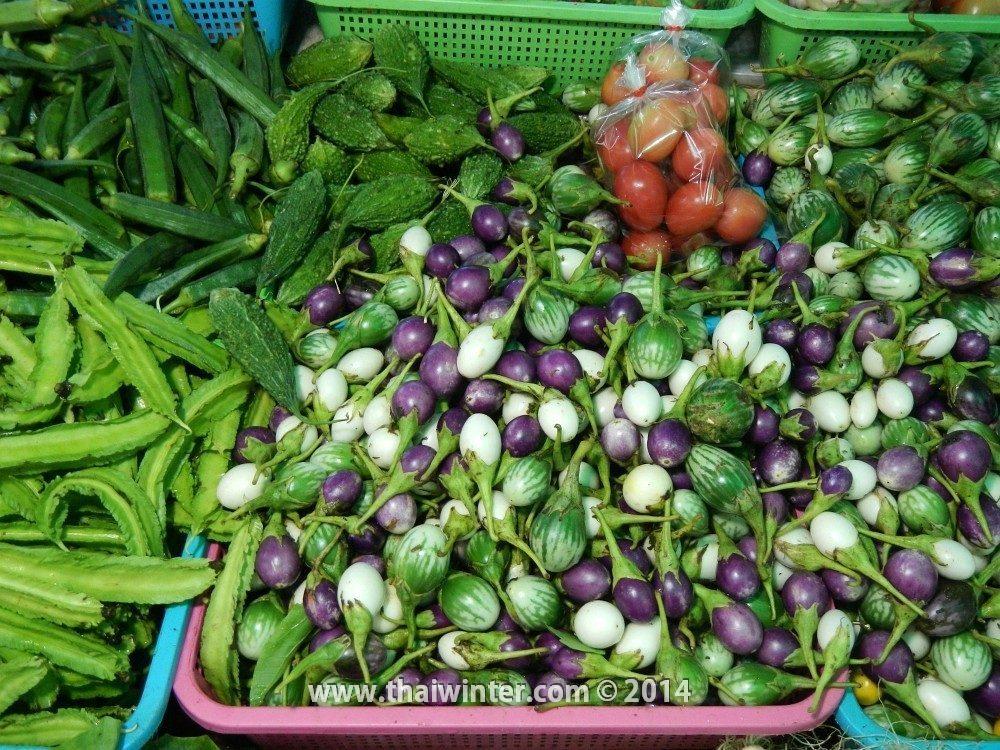 Тайские баклажаны