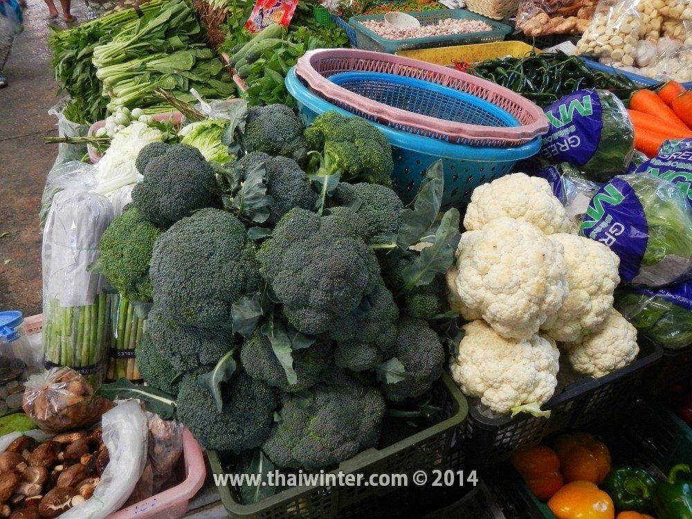 Брокколи и цветная капуста в Таиланде