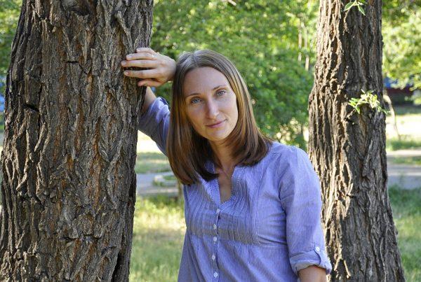 Жанна летом 2012 года в Красноярске