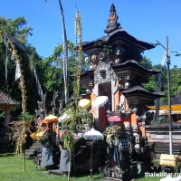 Храм Pura Dalem на Бали