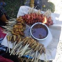 Рыночек около храма Pura Dalem на Бали