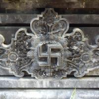 Элемент барельефа в храме