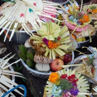Балийцы в ожидании церемонии