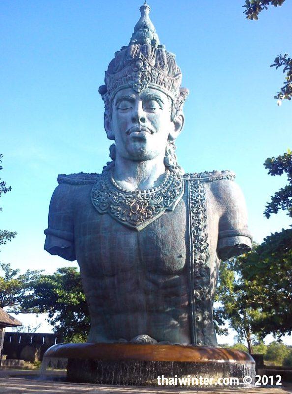 23 метровая статуя бога Вишну | Духовный мир острова Бали