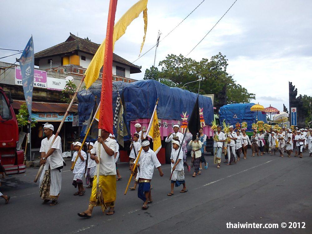 Праздничное шествие | Духовный мир острова Бали